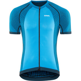 UYN Biking Activyon OW Blouse korte mouwen Heren, blue dodger/anthracite/black